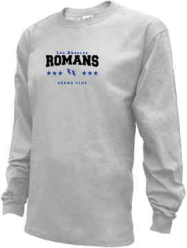 Kids Los Angeles High School Romans Apparel