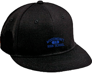 Wildcats Embroidered Flat Bill Caps