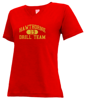 Women's Hawthorne High School Cougars Apparel