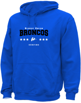 Men's Bishop Union High School Broncos Apparel