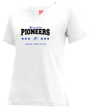 Women's Western High School Pioneers Apparel