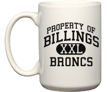 Billings High School Broncs Mugs & Bottles
