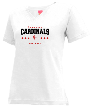 Women's Lawndale High School Cardinals Apparel