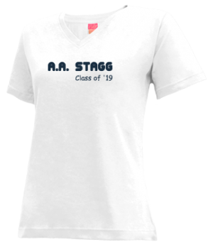 Women's A.a. Stagg High School Chargers Apparel