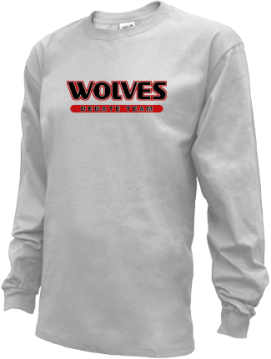 Kids Wrangell High School Wolves Apparel