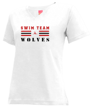 Women's Wrangell High School Wolves Apparel