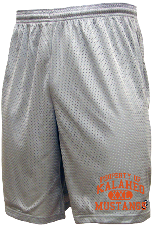 Men's Mustangs  Mesh Shorts