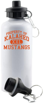 Women's Mustangs Aluminum Water Bottles