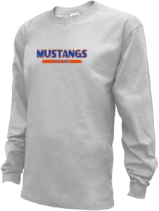 Men's Kalaheo High School Mustangs Long Sleeve Shirts