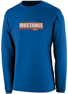 Men's Kalaheo High School Mustangs  Performance Long Sleeved Crew