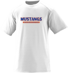 Men's Kalaheo High School Mustangs Short Sleeved Performance Mesh Crew