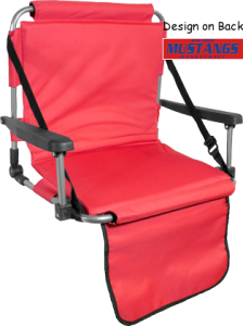 Women's Kalaheo High School Mustangs  Structured Stadium Seats