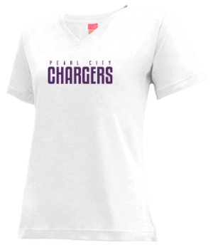 Women's Pearl City High School Chargers Apparel