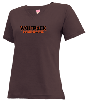 Women's Crawford County High School Wolfpack Apparel