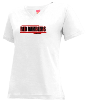 Women's Attica High School Red Ramblers Apparel
