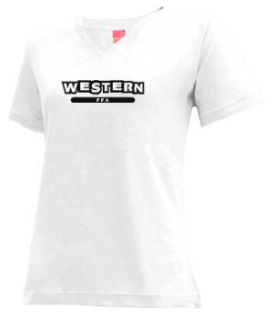 Women's Western High School Panthers Apparel