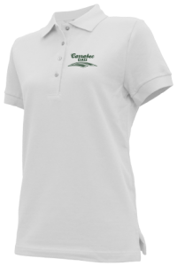 Women's Carrabec High School Cobras Embroidered Polo Shirts
