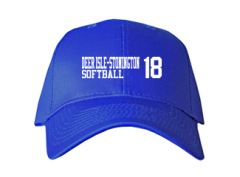 Men's Deer Isle-stonington High School Mariners Embroidered Baseball Caps