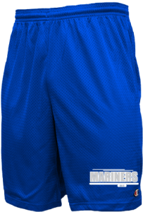 Men's Deer Isle-stonington High School Mariners  Mesh Shorts