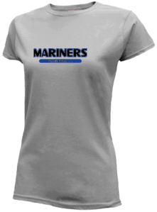 Junior Girls Deer Isle-stonington High School Mariners  Slimfit T-Shirts