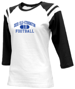 Junior Girls Deer Isle-stonington High School Mariners  Raglan Shirts