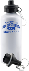 Men's Deer Isle-stonington High School Mariners Aluminum Water Bottles