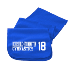 Men's Deer Isle-stonington High School Mariners Embroidered Scarfs