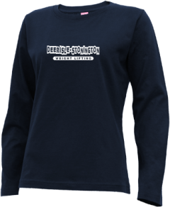 Women's Deer Isle-stonington High School Mariners Long Sleeve T-shirts