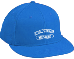 Women's Deer Isle-stonington High School Mariners Embroidered Flat Bill Caps