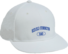 Men's Deer Isle-stonington High School Mariners Embroidered Flat Bill Caps