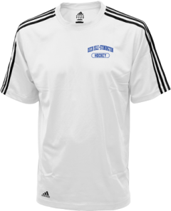Men's Deer Isle-stonington High School Mariners Embroidered Adidas Golf ClimaLite® Shirt