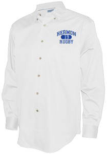 Men's Hermon High School Hawks Long Sleeve Button Up Shirts