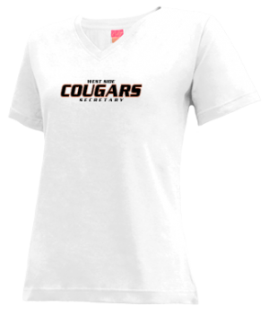 Women's West Side High School Cougars Apparel