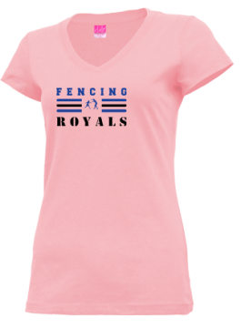 Junior Girls Jonesport-beals High School Royals Apparel