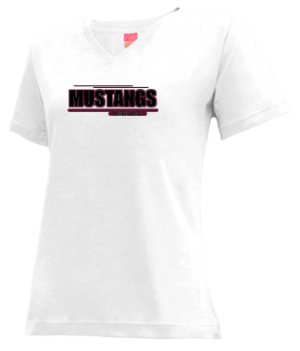 Women's Monmouth Academy High School Mustangs Apparel