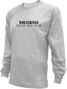 Kids Schenck High School Wolverines Apparel