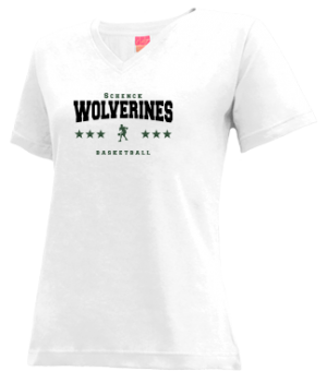 Women's Schenck High School Wolverines Apparel
