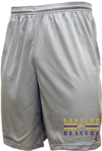 Men's Washburn High School Beavers  Mesh Shorts