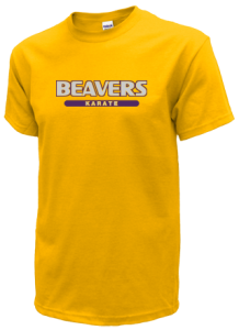 Men's Washburn High School Beavers  T-Shirts