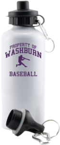 Washburn High School Beavers Aluminum Water Bottles