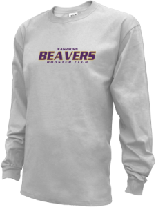 Kids Washburn High School Beavers Long Sleeve Youth Shirts
