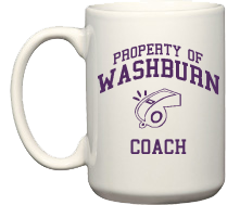 Washburn High School Beavers Coffee Mugs (15oz)
