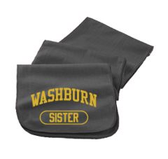 Washburn High School Beavers Embroidered Scarfs