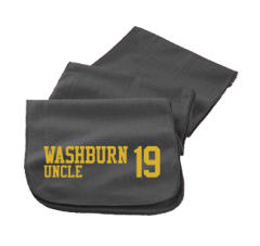 Women's Washburn High School Beavers Embroidered Scarfs