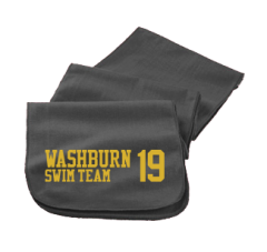 Men's Washburn High School Beavers Embroidered Scarfs