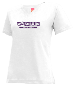Women's Washburn High School Beavers V-neck Shirts
