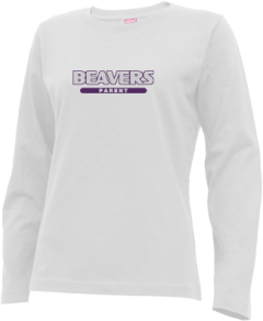 Women's Washburn High School Beavers Long Sleeve T-shirts