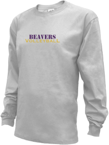 Men's Washburn High School Beavers Long Sleeve Shirts