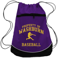 Men's Washburn High School Beavers Drawstring Back Packs