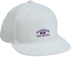 Women's Washburn High School Beavers Embroidered Flat Bill Caps